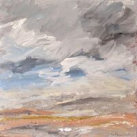 March -Passing Showers 30x30 x3cm.