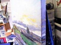 Hampshire January in the studio