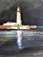 detail of lighthouse