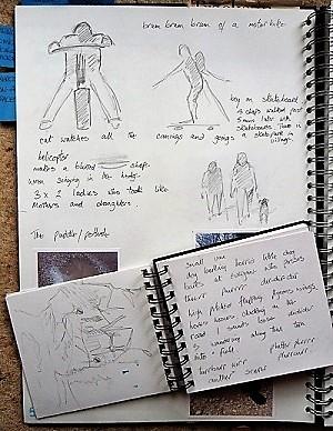 Footpath sketchbook