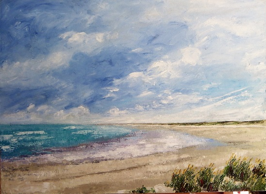 Nine Mile Beach 40x56