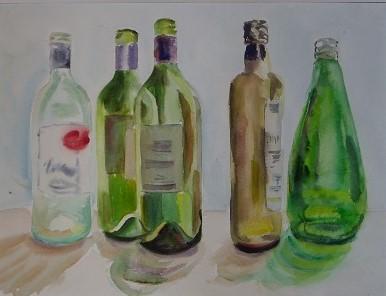 Five Green Bottles 30x42