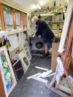 mounting watercolours