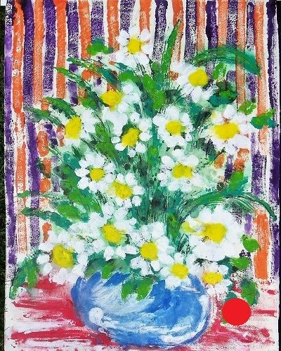 Daisies for Matisse 75x57