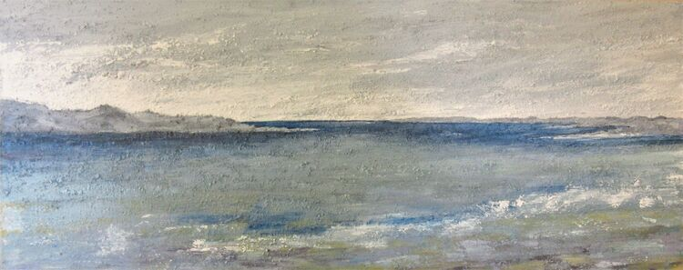 Once More Towards the Island 100x30x4