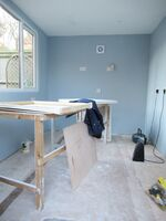 New studio interior