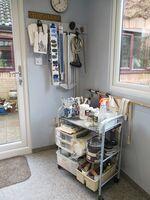 studio right of door