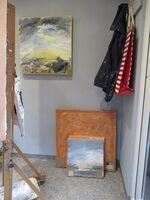 new studio left of door