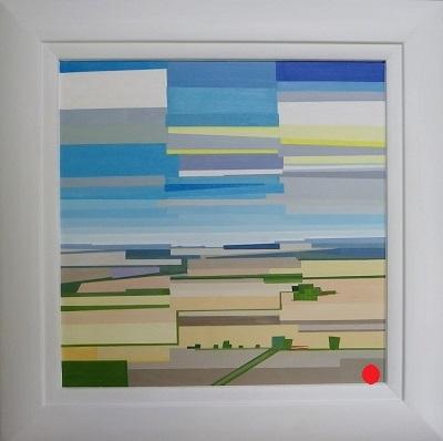 Summer Fields 42 x 43 cm.