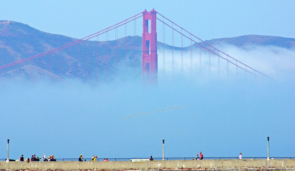 Blue Mist Golden Gate