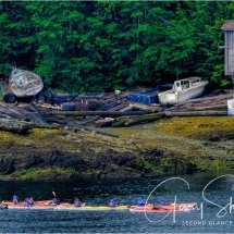 Canoeing in Ketchikan