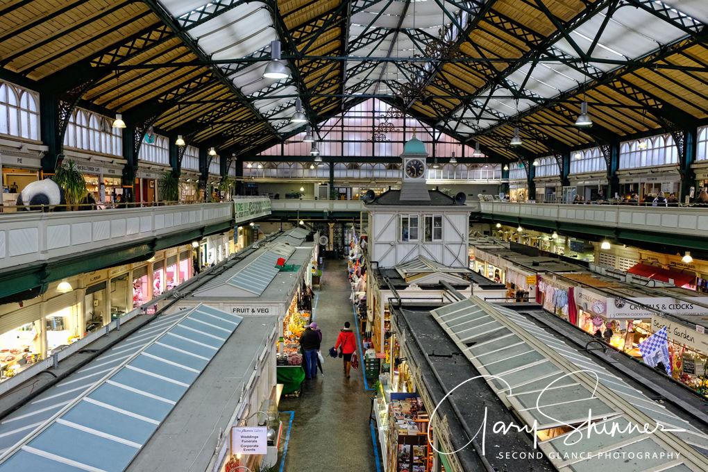 Cardiff Market Interior