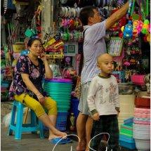 Chongqing street trader