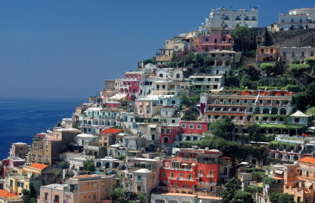 Colourful Amalfi Coastline
