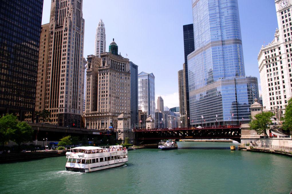 Cruising in Chicago