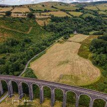 Cynghordy Viaduct view