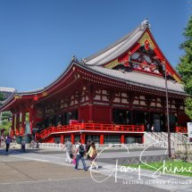 DAY 14 -4 Japan - City Tour, Senso-Ji Temple, Imperial Gardens, Ginza Shopping