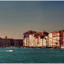 Entrance to Grand Canal - Venice