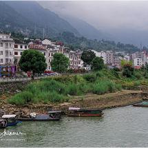 Fishing boats of the Yangtze