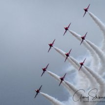 Flyby in formation