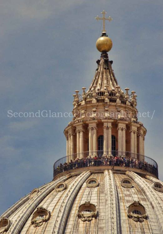 St. Peters Dome Tourists on top