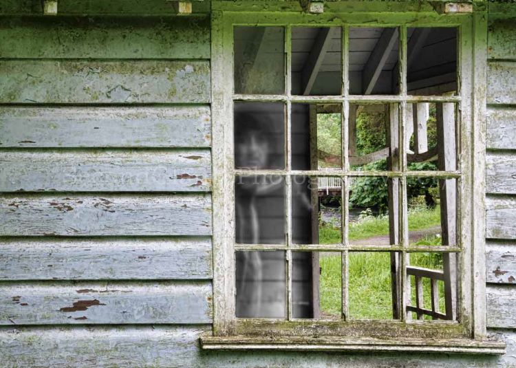 Ghost in the old summer house
