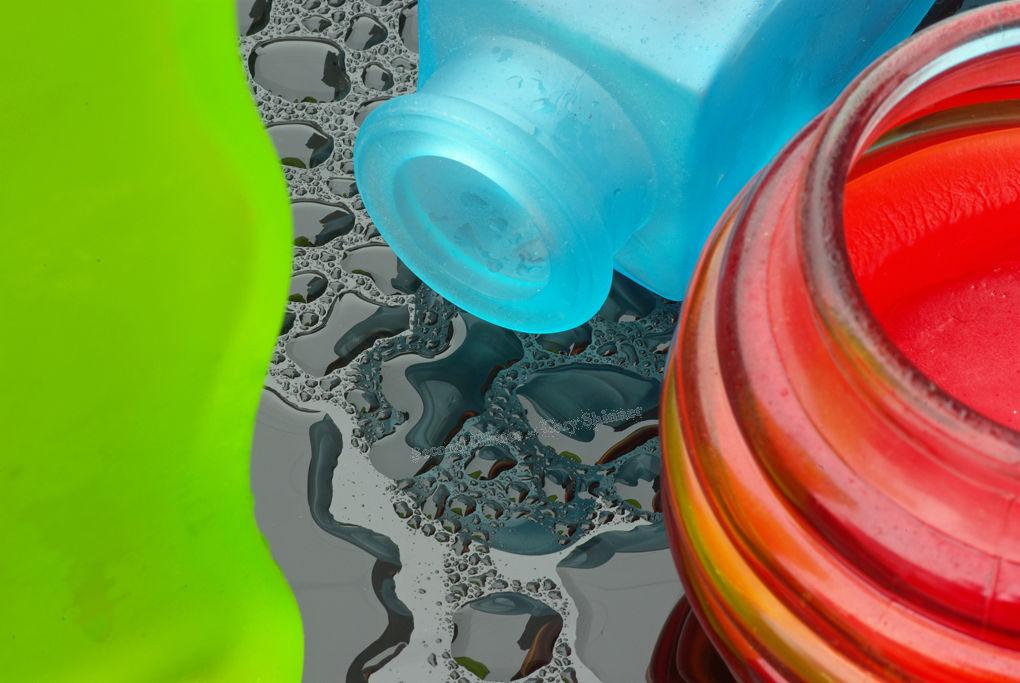 Glass Study in Colour No.1