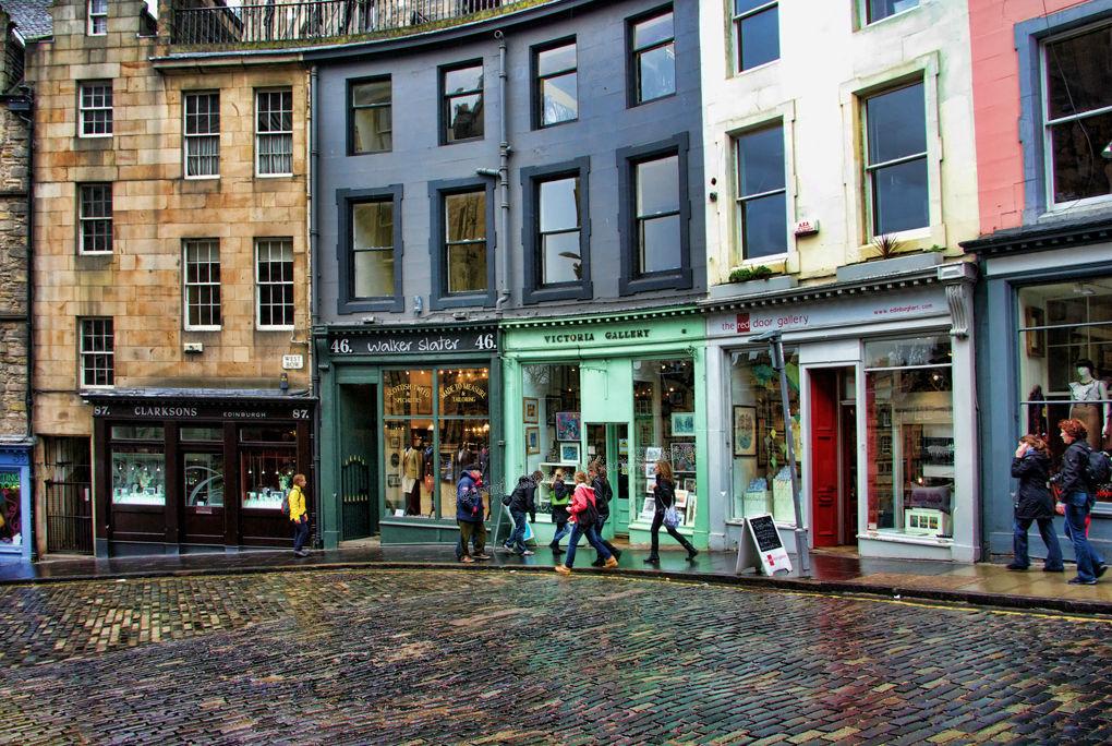 Grass Market Edinburgh No.2