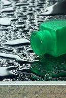 Green Bottle, black rain