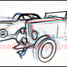 Hot Rods 'Outlines'