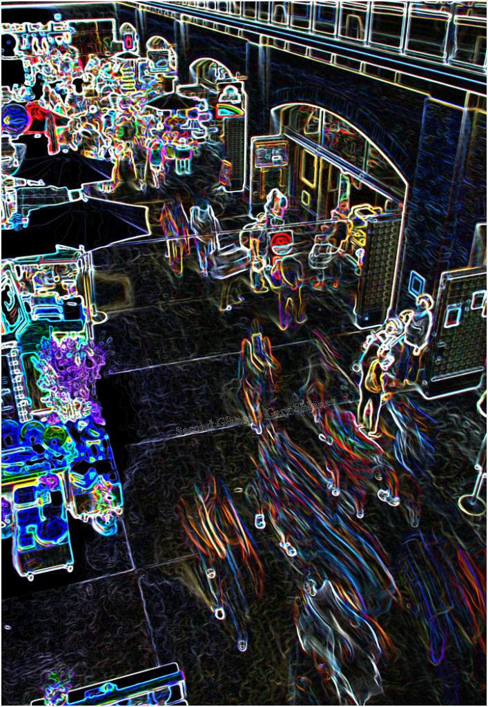 Human light trails