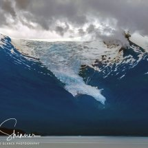 Icecapped Mountain - Alaska