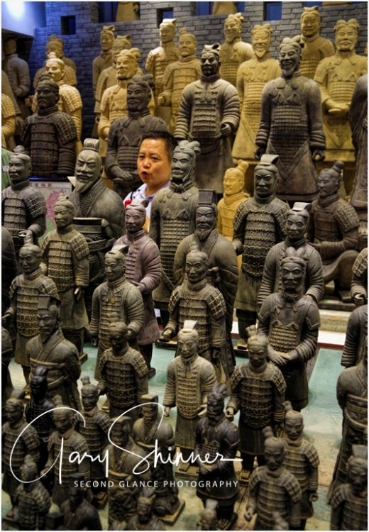 Infiltrated the Terracotta army