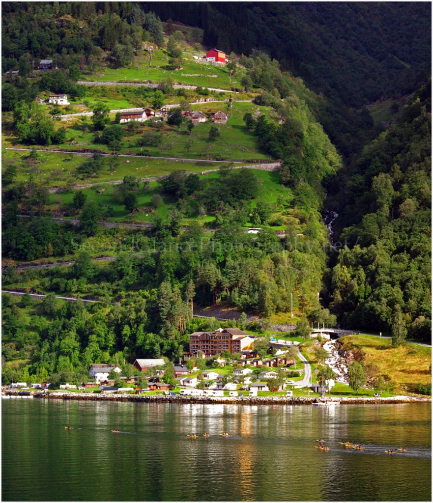 Kayaking in GeriangerFjord