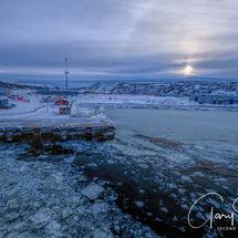 Kirkenes - frozen departure