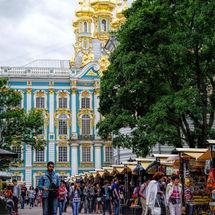 Market Stalls - Peterhof Palace