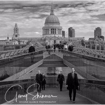 Millennium Bridge London No2 - Mono