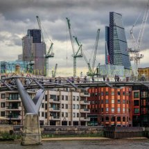 Millennium Bridge Skyline