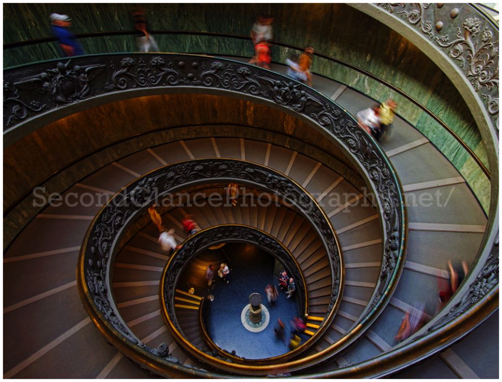 No.6 The Exit Stairs - The Vatican