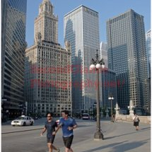 No.9 Wacker Dr. Morning Joggers – Chicago
