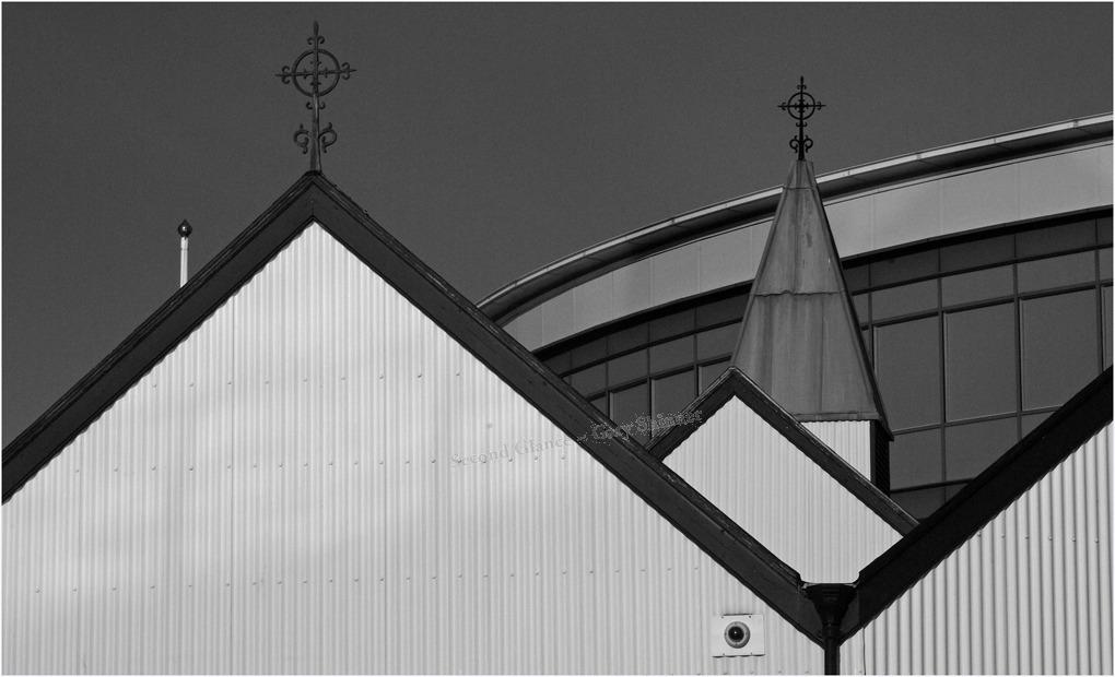 Norweigan Church roof