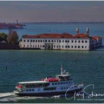 Passing the island San Servolo