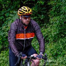 Portrait of cyclist (Colour)