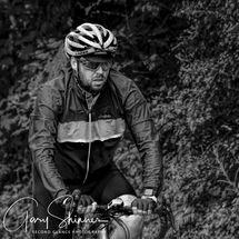 Portrait of cyclist (Mono)