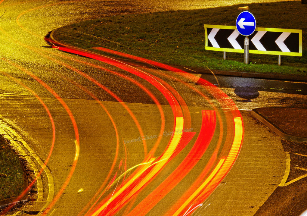 Red Strips show the way