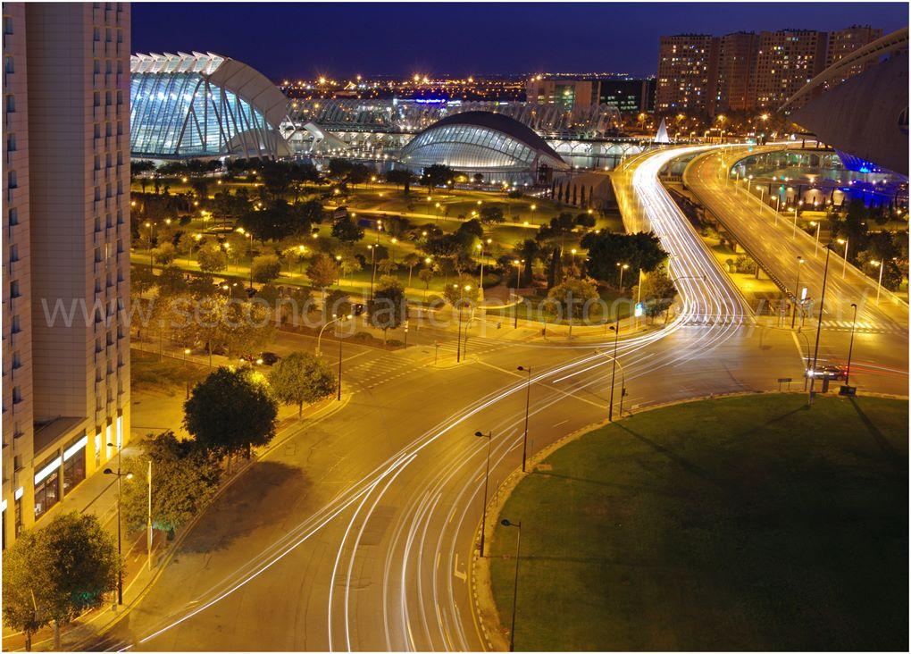 Science Park at Night Valencia