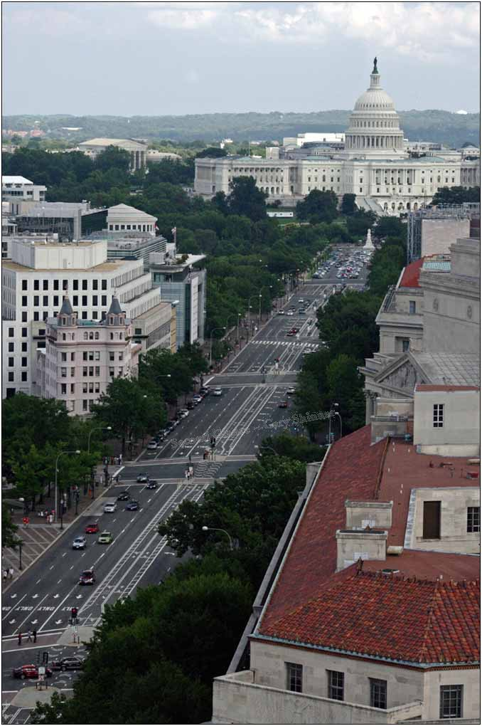Pennslyvania Avenue to Capitol Hill (cities Photo Travel)