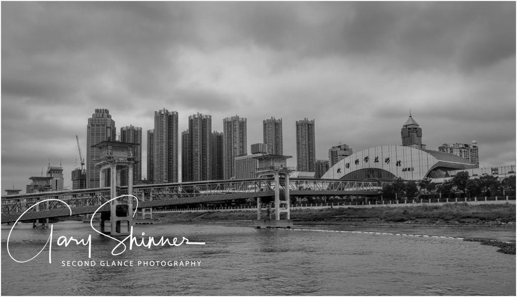 Storm brewing portside Wuhan