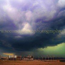 Storm over St Petersburg