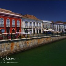 Tavira at the riverside